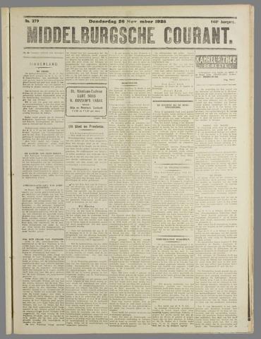 Middelburgsche Courant 1925-11-26