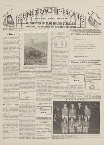 Eendrachtbode (1945-heden)/Mededeelingenblad voor het eiland Tholen (1944/45) 1969-04-03