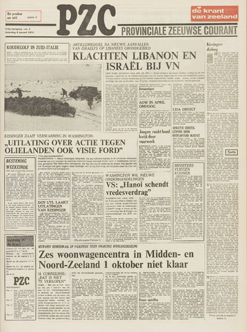 Provinciale Zeeuwse Courant 1975-01-04