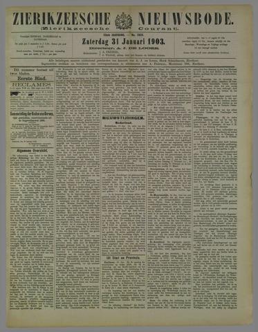 Zierikzeesche Nieuwsbode 1903-01-31