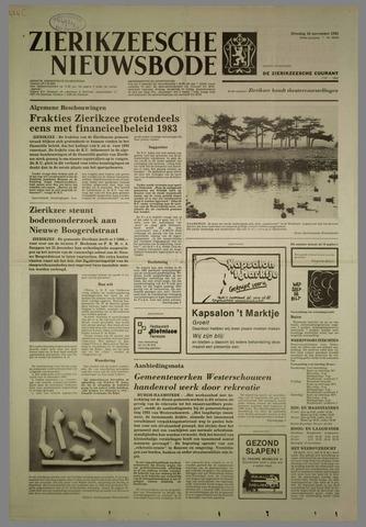 Zierikzeesche Nieuwsbode 1982-11-16