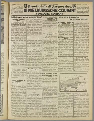 Middelburgsche Courant 1939-10-09