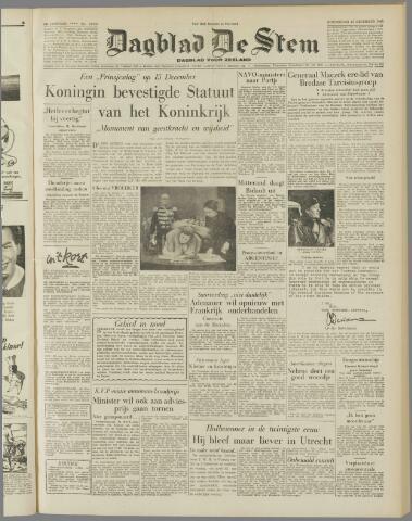 de Stem 1954-12-16