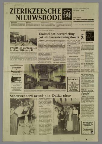 Zierikzeesche Nieuwsbode 1985-11-12