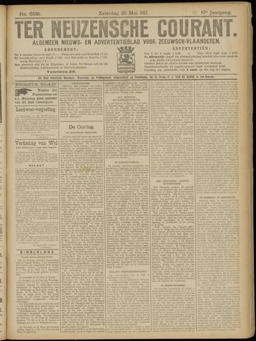 Ter Neuzensche Courant. Algemeen Nieuws- en Advertentieblad voor Zeeuwsch-Vlaanderen / Neuzensche Courant ... (idem) / (Algemeen) nieuws en advertentieblad voor Zeeuwsch-Vlaanderen 1917-05-26
