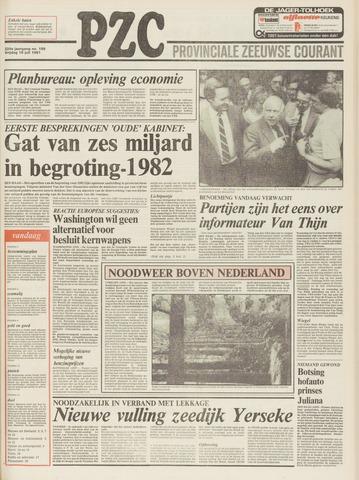Provinciale Zeeuwse Courant 1981-07-10