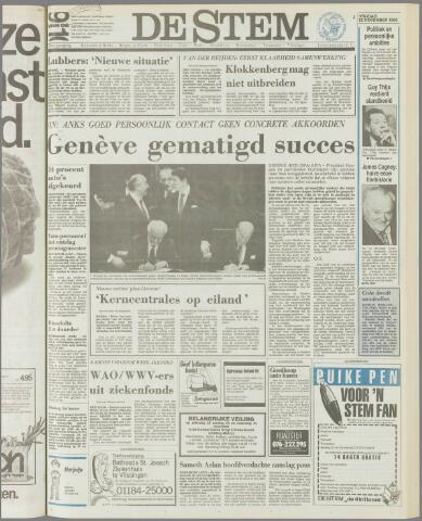 de Stem 1985-11-22