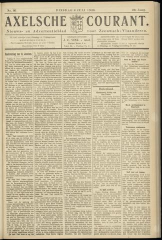 Axelsche Courant 1926-07-06