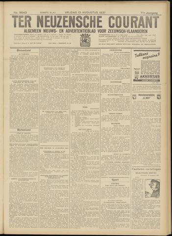 Ter Neuzensche Courant. Algemeen Nieuws- en Advertentieblad voor Zeeuwsch-Vlaanderen / Neuzensche Courant ... (idem) / (Algemeen) nieuws en advertentieblad voor Zeeuwsch-Vlaanderen 1937-08-13