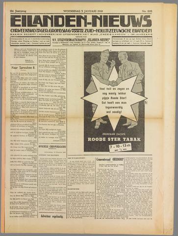 Eilanden-nieuws. Christelijk streekblad op gereformeerde grondslag 1940-01-03