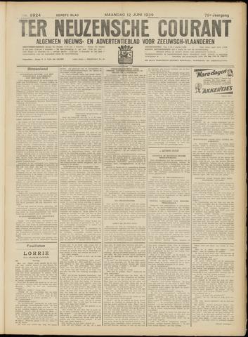 Ter Neuzensche Courant. Algemeen Nieuws- en Advertentieblad voor Zeeuwsch-Vlaanderen / Neuzensche Courant ... (idem) / (Algemeen) nieuws en advertentieblad voor Zeeuwsch-Vlaanderen 1939-06-12