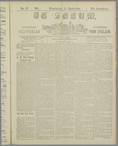 De Zeeuw. Christelijk-historisch nieuwsblad voor Zeeland 1911-12-06