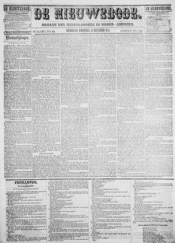 Sheboygan Nieuwsbode 1856