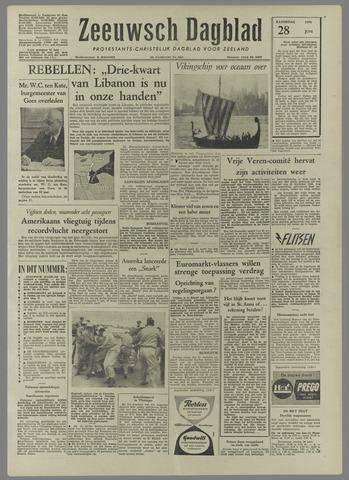 Zeeuwsch Dagblad 1958-06-28