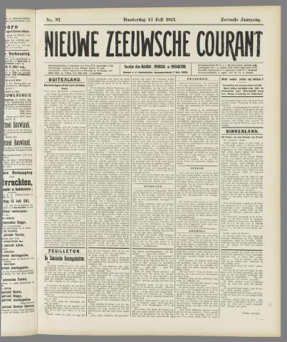 Nieuwe Zeeuwsche Courant 1911-07-13