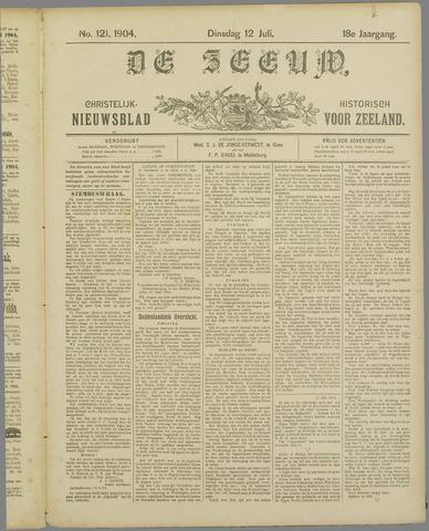 De Zeeuw. Christelijk-historisch nieuwsblad voor Zeeland 1904-07-12