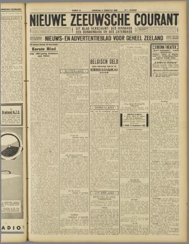 Nieuwe Zeeuwsche Courant 1930-08-09