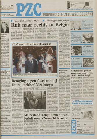 Provinciale Zeeuwse Courant 1991-11-25