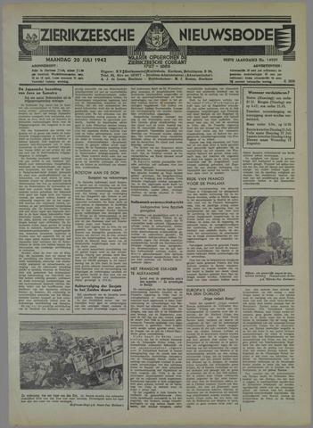 Zierikzeesche Nieuwsbode 1942-07-20