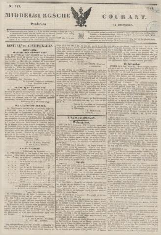 Middelburgsche Courant 1844-12-12