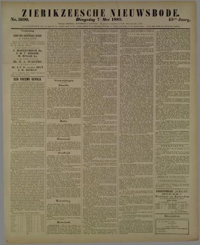 Zierikzeesche Nieuwsbode 1889-05-07