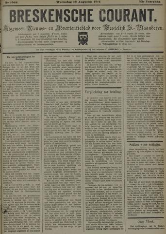 Breskensche Courant 1914-08-19