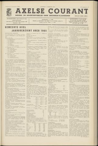 Axelsche Courant 1966-02-05