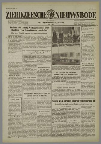 Zierikzeesche Nieuwsbode 1958-04-21