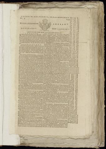 Middelburgsche Courant 1799-01-10