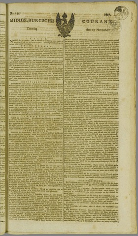 Middelburgsche Courant 1817-11-29