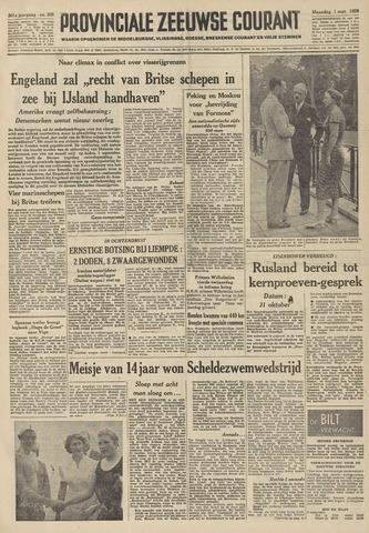 Provinciale Zeeuwse Courant 1958-09-01
