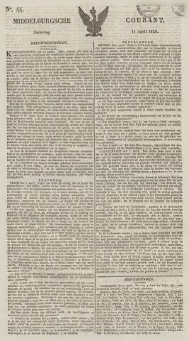 Middelburgsche Courant 1829-04-11