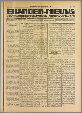 Eilanden-nieuws. Christelijk streekblad op gereformeerde grondslag 1936-12-24