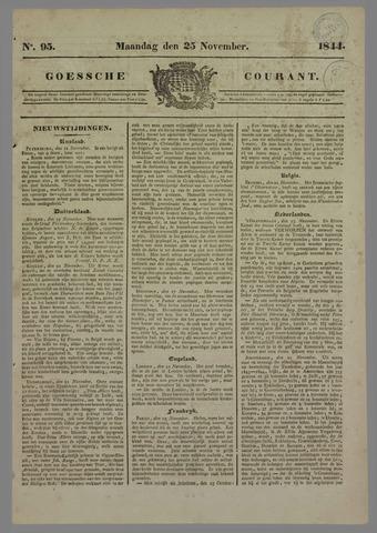 Goessche Courant 1844-11-25