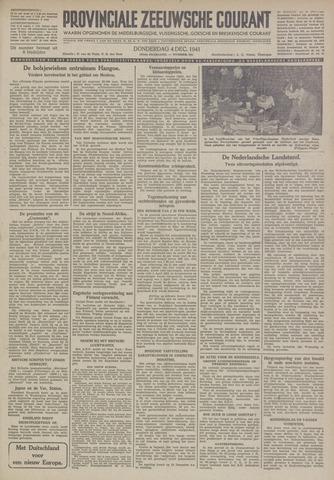Provinciale Zeeuwse Courant 1941-12-04