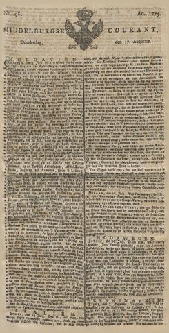 Middelburgsche Courant 1775-08-17