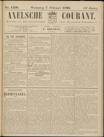 Axelsche Courant 1900-02-07
