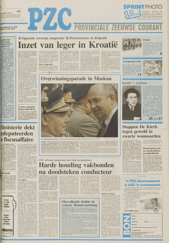 Provinciale Zeeuwse Courant 1991-05-10