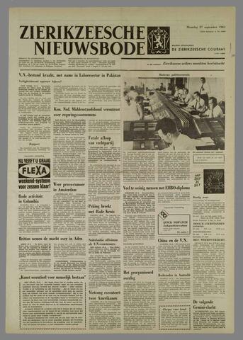 Zierikzeesche Nieuwsbode 1965-09-27