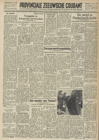 Provinciale Zeeuwse Courant 1947-07-15