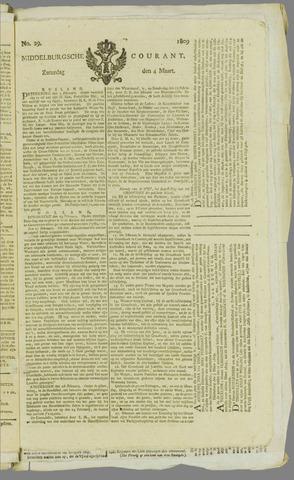 Middelburgsche Courant 1809-03-04