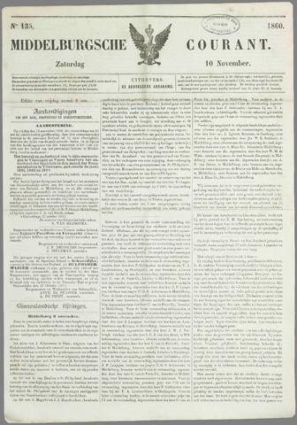 Middelburgsche Courant 1860-11-10