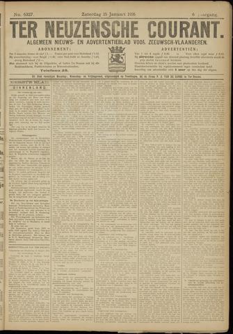 Ter Neuzensche Courant. Algemeen Nieuws- en Advertentieblad voor Zeeuwsch-Vlaanderen / Neuzensche Courant ... (idem) / (Algemeen) nieuws en advertentieblad voor Zeeuwsch-Vlaanderen 1916-01-15