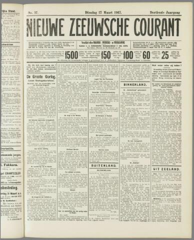 Nieuwe Zeeuwsche Courant 1917-03-27