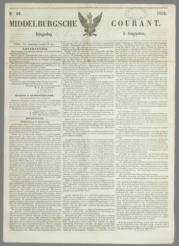 Middelburgsche Courant 1862-08-05