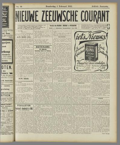 Nieuwe Zeeuwsche Courant 1912-02-01