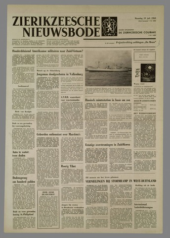 Zierikzeesche Nieuwsbode 1965-07-19