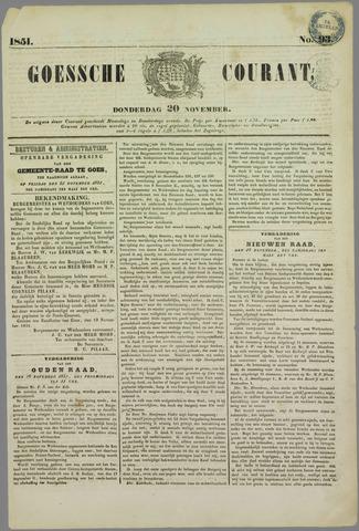 Goessche Courant 1851-11-20