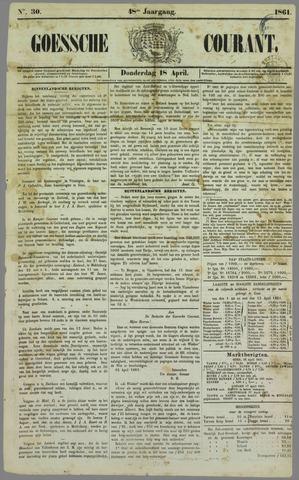 Goessche Courant 1861-04-18