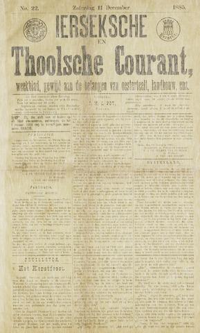 Ierseksche en Thoolsche Courant 1885-12-12